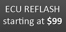 Electronic Control Unit (ECU) reflash starting at $99